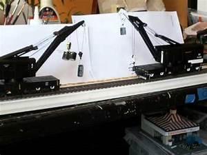 Athearn 200 Ton Crane   Motorized    Dcc Controled