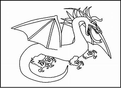 Dragon Pages Coloring Printable Colouring Bestcoloringpagesforkids Via