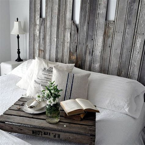 reclaimed wooden headboard hometalk
