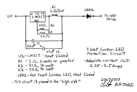 Kaoei Overcurrent Protection For High Power Leds