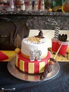 Deco Harry Potter Anniversaire : gateau anniversaire harry potter vue devant 2 anniversaire harry potter anniversaire harry ~ Melissatoandfro.com Idées de Décoration