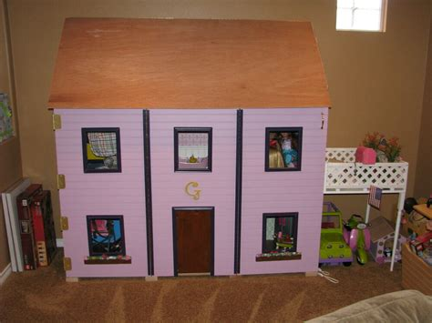 american girl dollhouse  doll sized plans