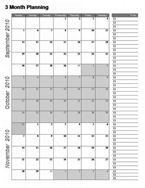Calendar Template 3 Months Per Page calendar template three months per page adventskalender