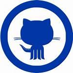 Github Icon Azure Royal Icons Site Custom