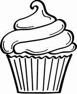 Cake Cup Cupcakes Colorear Google Dibujos Imprimir Bd sketch template