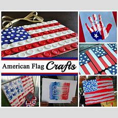 American Flag Crafts For July 4th  Celebrating Holidays