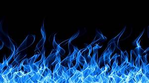 Blue Fire Wallpaper HD - WallpaperSafari