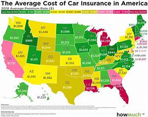Find Out Which States Have the Most Expensive Car Insurance Rates in 2018