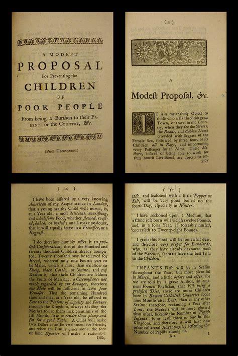 swift  modest proposal