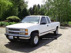 1997 Chevrolet Silverado 4wd Ext  Cab C    K2500 454 V