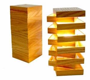 Lampe Design Bois : lampe chevet bois design lampe de chevet noir design marchesurmesyeux ~ Teatrodelosmanantiales.com Idées de Décoration