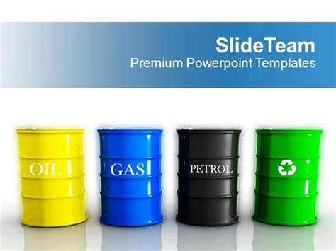 Different Types Of Fuels Tanks Gas Petrol Powerpoint