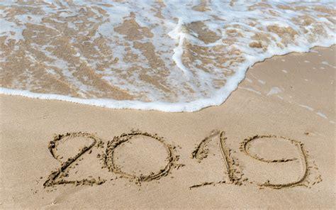 Descargar Fondos De Pantalla 2019 Año, La Playa, Los