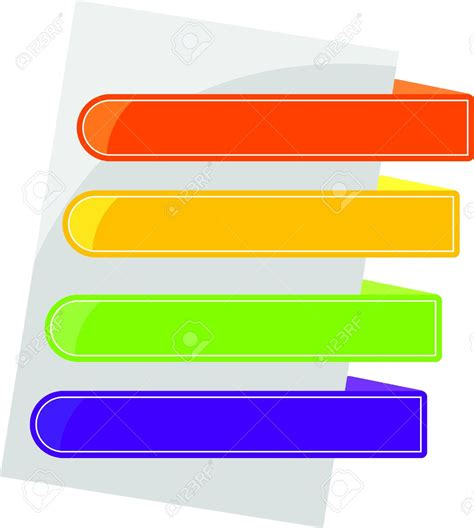 colorful tabs colorful tab clipart clipground