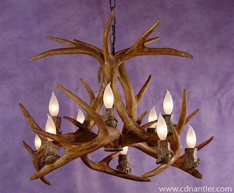 faux deer antler chandelier faux whitetail inverted deer antler chandelier 10 lights