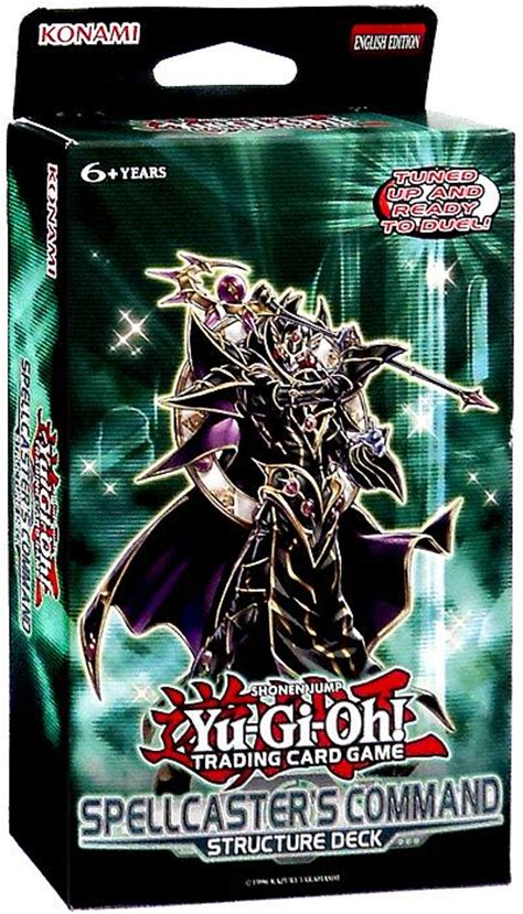 Yugioh Synchro Structure Deck by Yugioh Spellcaster S Command Structure Deck On Sale At