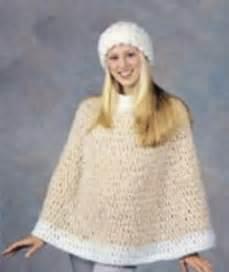 Red Heart Free Crochet Poncho Pattern