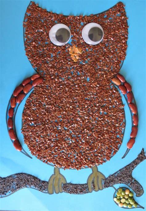 dried beans  grains owl mosaic thriftyfun