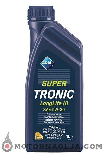aral tronic longlife iii 5w 30 motorno olje aral tronic longlife iii 5w 30