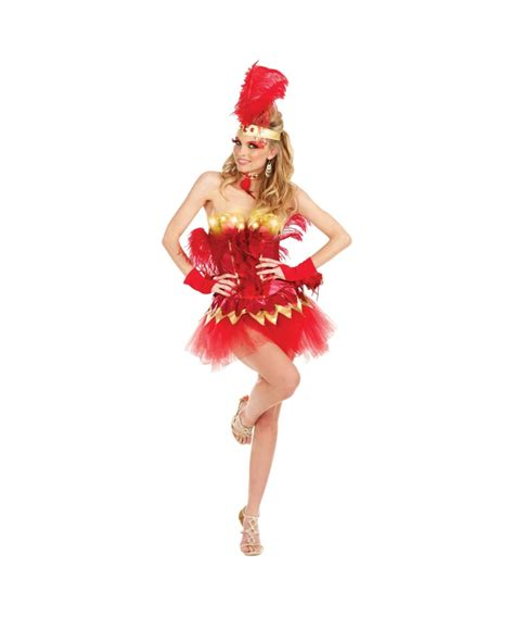 light up costumes fabulous firebird light up costume costume