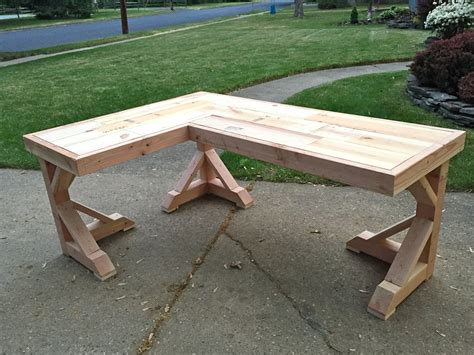how to make a corner desk diy corner desk home happiness