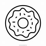 Coloring Pages Donut Doughnut Popular Ultra sketch template