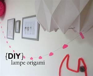 Diy Abat Jour : origami party pitimana le blog ~ Preciouscoupons.com Idées de Décoration