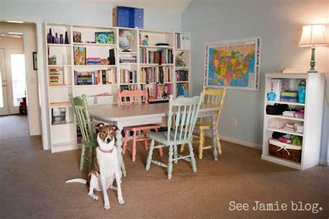 open floorplan homeschool room improved again see