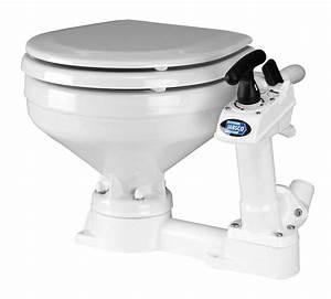 Jabsco Manual Marine Toilet - Compact