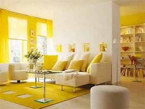 Yellow themed living room design inspiration the for How to decorate a yellow living room