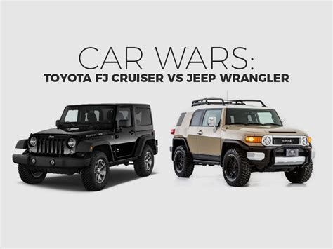 Jeep Vs Fj Cruiser by Toyota Fj Cruiser Vs Jeep Rubicon Car Reviews 2018