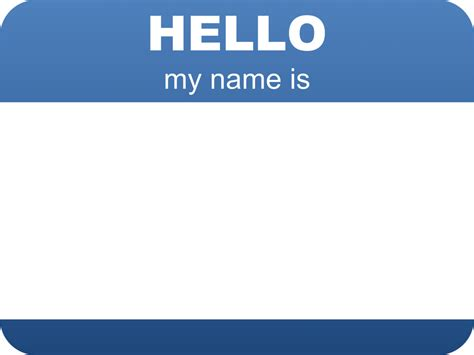 hello my name is template hello my name is template www pixshark images galleries with a bite