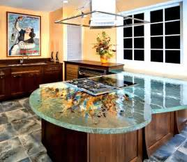 glass kitchen island glass tops for cool and kitchen designs from thinkglass digsdigs