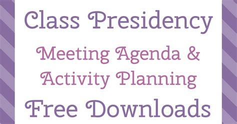 personal progress helper class presidency meeting