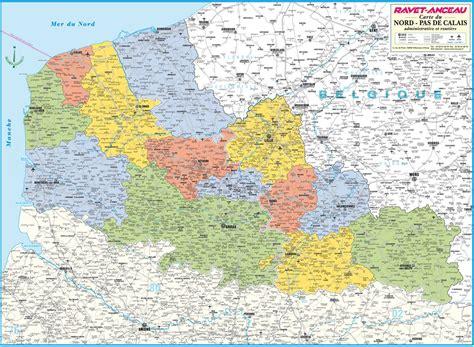 carte nord pas de calais ravet anceau