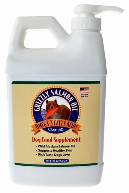 Dog Alaskan Supplement Salmon Wild Oil Natural