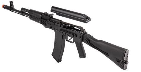WellFire AK74 Gas Blowback GBB Airsoft Rifle Black ...