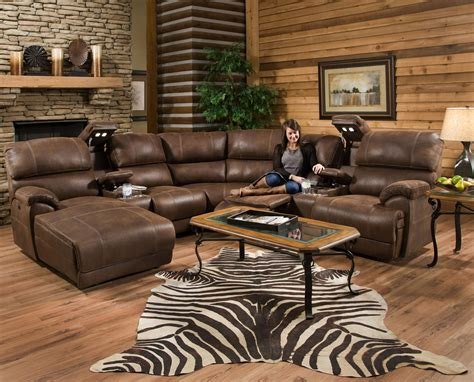 Living Room With Recliners by Furniture Style Sectional Reclining Sofas For