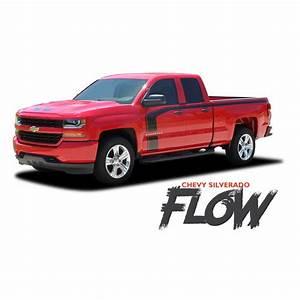 Chevy Silverado Side Stripes Flow Special Edition Rally