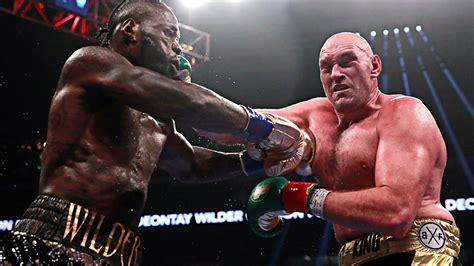 Tyson Fury and Deontay Wilder fight to controversial draw ...