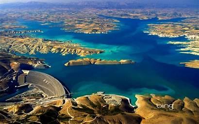 Bing Daily Wallpapers River Aerial Ataturk Euphrates