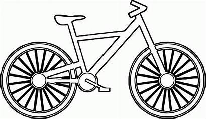 Coloring Cartoon Bicycle Bike Printable Rower Preschool