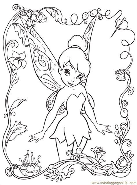 Coloring Pages Disney Fairy6 (Cartoons > Disney Fairies