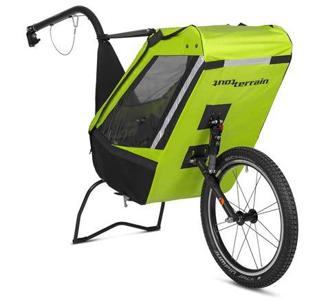 siège bébé remorque vélo remorque tout terrain single trailer