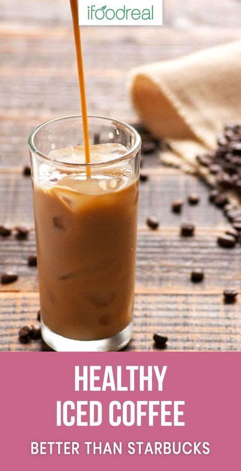 Calories, fat, protein, and carbohydrate values for for coffee with milk and other related foods. Healthy Iced Coffee Recipe with almond milk, sugar free, low calorie, and much ch…   Iced coffee ...