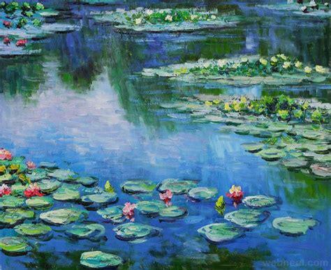 bathroom tile work 20 monet paintings and landscape artworks