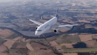 Airplane Airbus Gifs A320 Tenor Aircraft