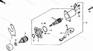 Honda Scooter 1985 Oem Parts Diagram For Starting Motor
