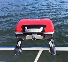 Cuisinart Boat Grill by Pontoon Boat Barbecue Gas Grill Rail Mount Ebay