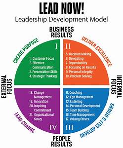 LEAD NOW! Leadership Development Model - Stewart Leadership